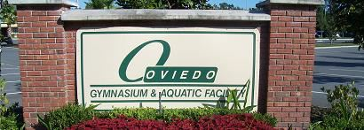Gym and Aquatic Facility Sign