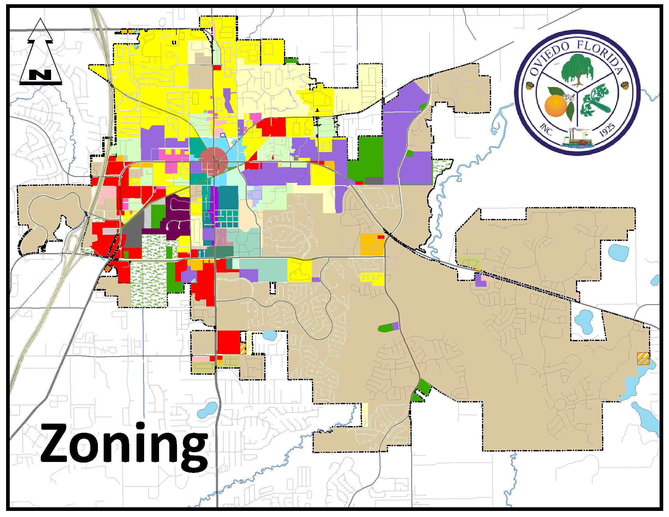 Filter city Zoning information by classification