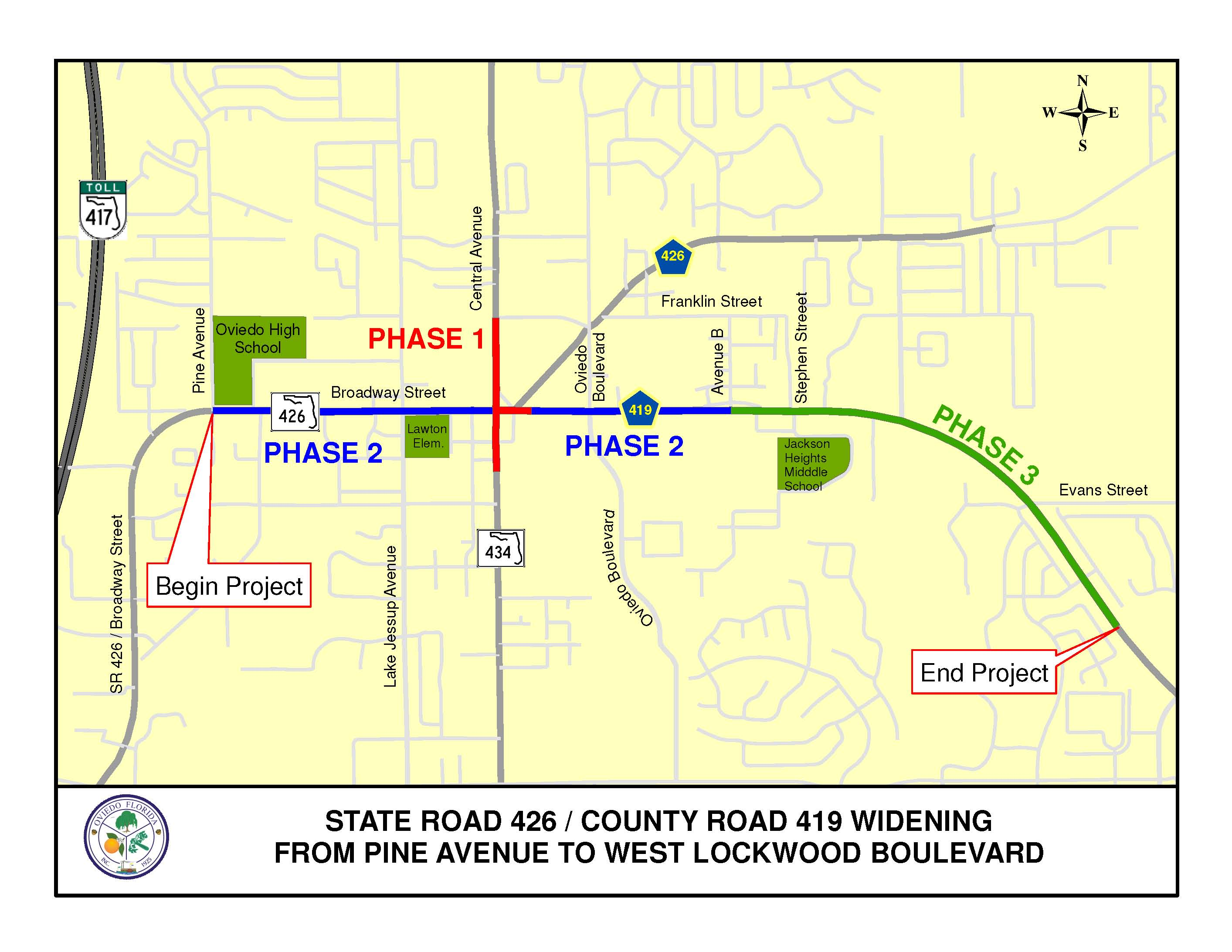 State Road 426 Widening Project Outline